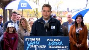 Canada Election 2019: Scheer makes final pitch to Maritimes provinces