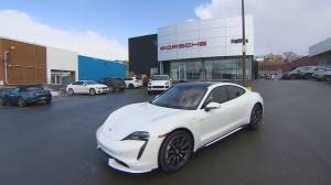 Electric Feel: Paul Brothers test drives Porsche's first electric car