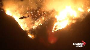Firefighters battling Getty Fire on westside of Los Angeles