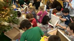 Saskatoon charity delivers Christmas gifts to nearly 1,000 children