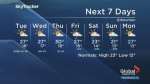 Edmonton weather forecast: Aug. 2, 2021 (03:00)