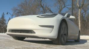 Electric vehicles faring well during Saskatchewan winter (00:51)