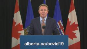 Alberta health minister expects shipments of COVID-19 vaccine to arrive in early January (01:11)