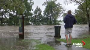 Windsor, Australia residents brace for evacuation as flooding intensifies (02:37)
