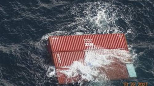 Marine hazard after a ship loses 40 containers overboard near Victoria, B.C. | Watch News Videos Online