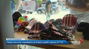 Coronavirus: Masks set to be mandatory at indoor public places in Toronto