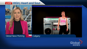 HIGH, Heart and Soul fitness event supports Heart & Stroke (05:30)