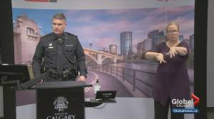 Calgary police address enforcement concerns following anti-mask protest (02:05)