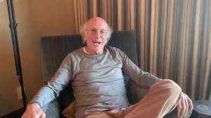 Larry David PSA urges people to stay home