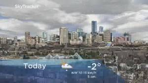 Edmonton early morning weather forecast: Wednesday, January 22, 2020