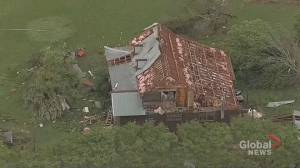 More storms expected as more than 20 tornadoes reported across southeastern U.S. (01:15)
