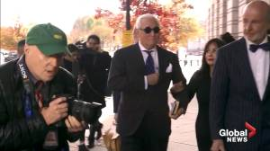Roger Stone found guilty of charges including witness tampering