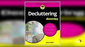Decluttering and home organizing tips with Jane Stoller