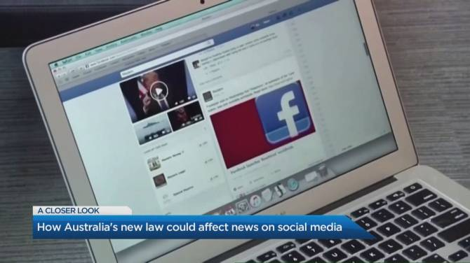 Click to play video: Facebook lifts news blockade after agreeing to Australian law