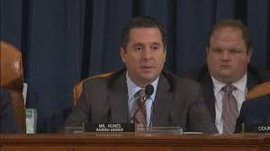 Trump impeachment hearings: Devin Nunes opening statement on day three