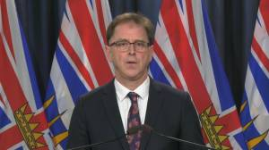 B.C. Health Minister outlines list of public events restricted under new public health orders (03:55)
