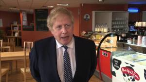 U.K. has 'good chance' of ditching social distancing by June, Boris Johnson says (01:00)