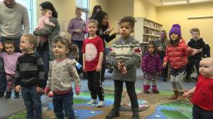 Kids learn to sign with inclusive story time in Lake Country