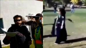 Video of Red Deer protest clash goes viral