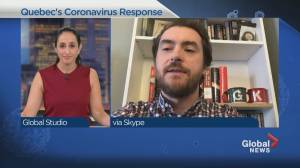 A West Island MNA's take on the government's coronavirus response (04:32)