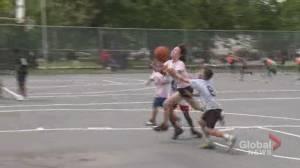 Nova Scotia basketball veterans bring street ball to youth (01:58)