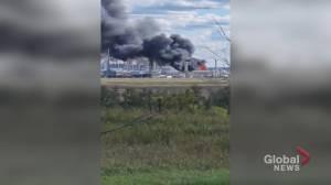 Fire breaks out refinery near Fort Saskatchewan (00:54)