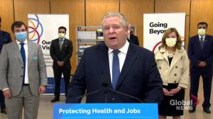 New hospital to be built in Brampton, Ont., announces Ford (01:06)