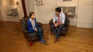 Greta Thunberg meets with Trudeau on sidelines of Climate Strike march