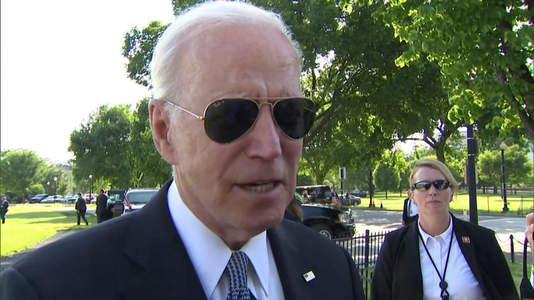 Click to play video: 'Biden hopeful for a deal on George Floyd police reform bill after Memorial Day'