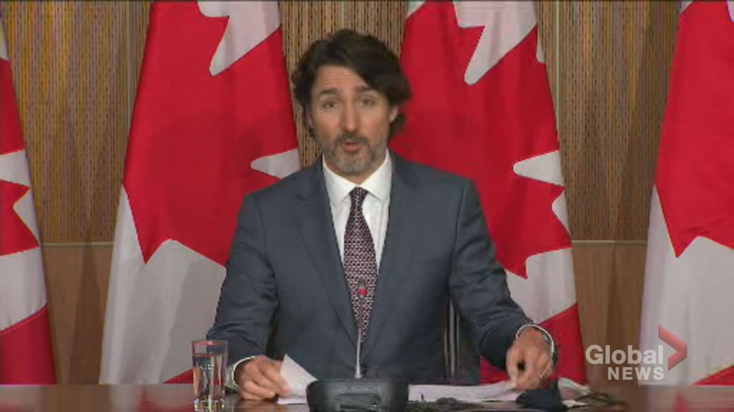 Click to play video: 'Trudeau says violence in Gaza 'needs to stop,' calls for ceasefire'