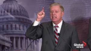 Graham says Democrats are on 'crusade to destroy' Donald Trump