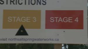 Hot weather causes water supply shortages on Gulf Islands (02:11)