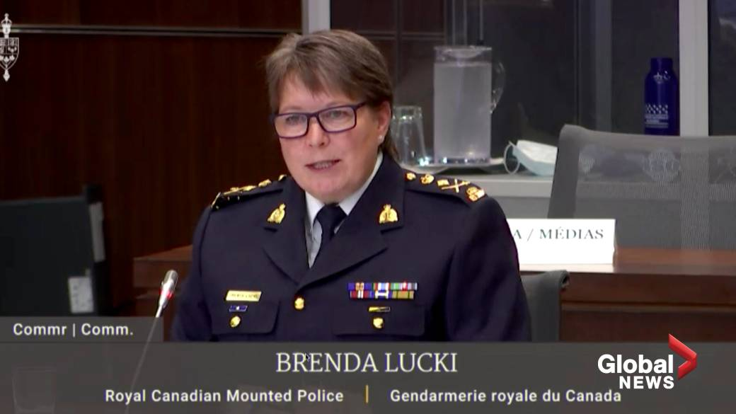 Click to play video ''When I think about the defunding, I think more about funding all social services: RCMP Commissioner'