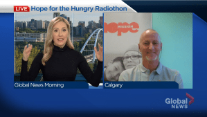 Hope Mission's Hope For The Hungry Radiothon gets underway this week (02:46)
