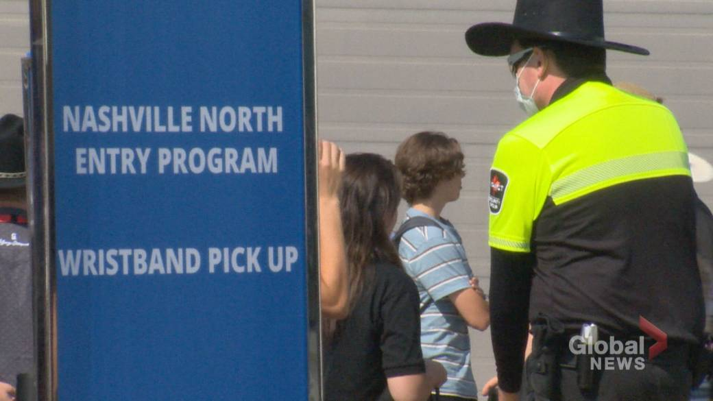 'Calgary Stampede officials accidental    introduction  process   for Nashville North is going 'extremely well' contempt  criticism'