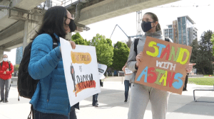 Rallies held in Metro Vancouver as part of National Day of Action Against Anti-Asian Racism (02:13)