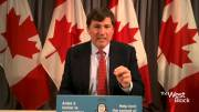 Play video: Coronavirus: LeBlanc says Canada is in top five to get COVID-19 vaccine