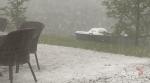 Heavy hail hits Bancroft