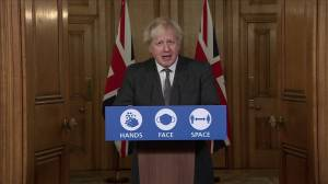 "Coronavirus: U.K. toughens COVID-19 rules due to ""sheer pace"" of new variant, PM Boris Johnson says (03:05)"