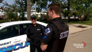 Security guard left shaken following random, violent encounter in northeast Calgary (02:00)
