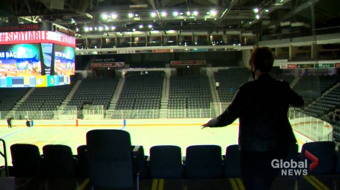 Click to play video: Hockey returns to Scotiabank Centre this weekend