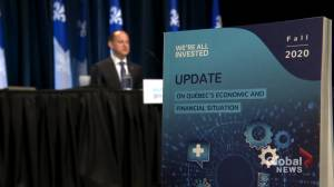 COVID-19 pandemic leaves Quebec with $15 billion deficit for 2020-2021 fiscal year (02:10)