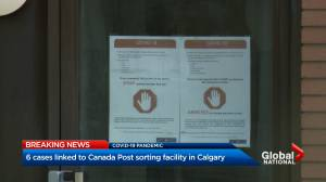 Coronavirus outbreak: COVID-19 outbreak declared at Canada Post plant in Calgary