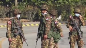 Myanmar's military seizes power in coup (02:33)