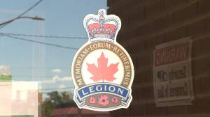 Belleville's Royal Canadian Legion Branch 99 dealing with COVID-19 (02:06)