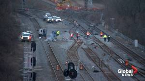 Hamilton railway blockade disbanded after protesters receive injunction notices