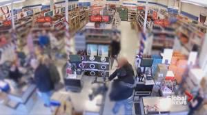 Edmonton liquor store clerk assaulted during transaction