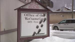 Wet'suwet'en hereditary chiefs meeting in northern B.C. (02:03)