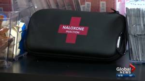 Health Matters: Opioid prescriptions could soon come with naloxone (03:42)