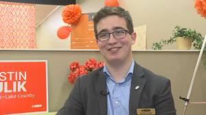 Extended interview with Kelowna-Lake Country NDP candidate Justin Kulik